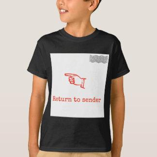 Retorne ao remetente camiseta