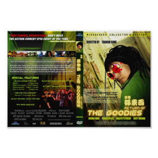 Retorno do cobrir dos presentes DVD Pôster