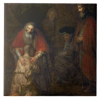 Retorno do filho Prodigal, c.1668-69