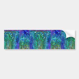 Retorno vibrante dos grafites das flores da adesivo para carro