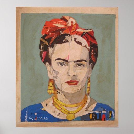 Retrato 2 do en Coyoacán de Frida Kahlo Poster