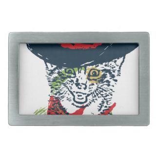 Retrato 2 do gato do vaqueiro do Grunge