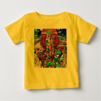 Retrato abstrato da estrela do rock camiseta