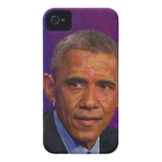 Retrato abstrato do presidente Barack Obama 7 Capinhas iPhone 4