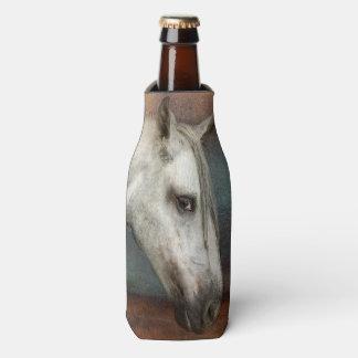 Retrato andaluz impressionante do cavalo porta-garrafa