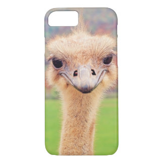 Retrato da avestruz capa iPhone 7