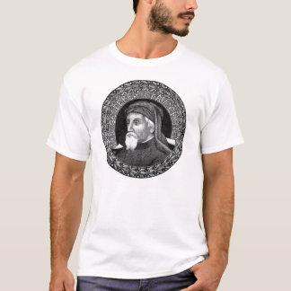 Retrato da camisa de Geoffrey Chaucer T