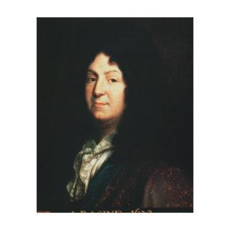 Retrato da cópia de Jean Racine de um original Impressão De Canvas Esticada