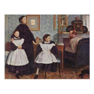 Retrato da família de Bellelli Cartão Postal