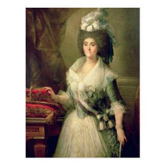 Retrato da rainha Maria Luisa Cartão Postal