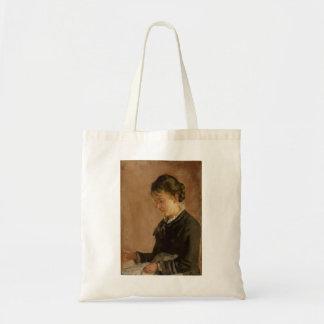 Retrato da senhorita Lina Kyburz por Ferdinand Hod Bolsa Para Compra