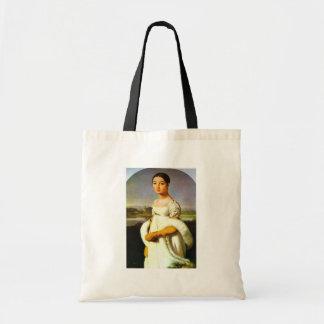 Retrato da senhorita Riviere pelo Au de Ingres Jea Bolsa Para Compras
