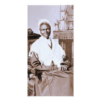Retrato da verdade do Sojourner cerca de 1870 Cartão Com Fotos