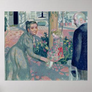 Retrato das avós de Denis, 1899 Poster