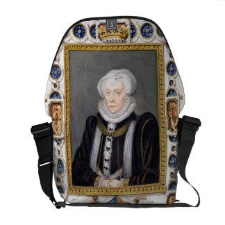 Retrato de 1515-78) condessas de Margaret Douglas  Bolsas Mensageiro