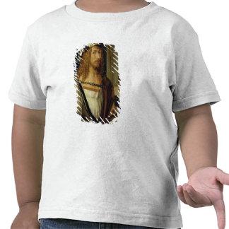 Retrato de auto com luvas, 1498 camisetas