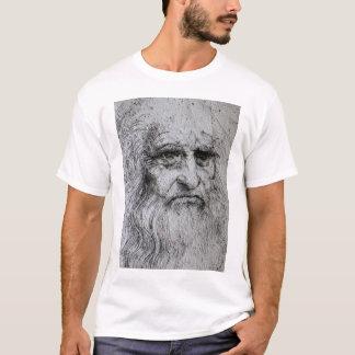 Retrato de auto de Leonardo da Vinci Camiseta