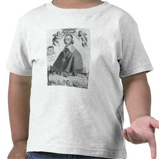 Retrato de Cardinal de Richelieu Camisetas