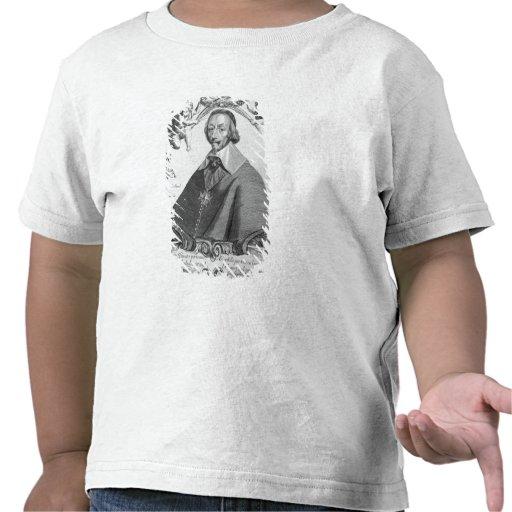 Retrato de Cardinal de Richelieu Camiseta