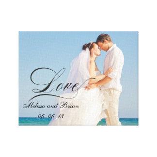 Retrato de casamento personalizado do amor