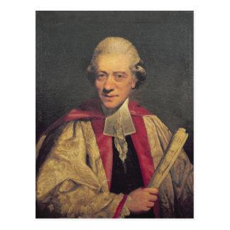 Retrato de Charles Burney, c.1781 Cartão Postal