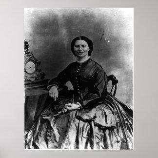 Retrato de Clara Barton Posteres