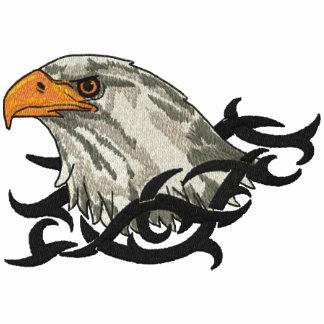 Retrato de Eagle Camiseta Bordada Polo