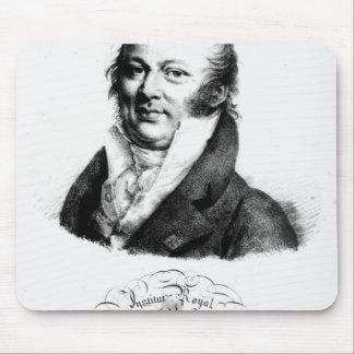 Retrato de Etienne Geoffroy Santo-Hilário Mouse Pad