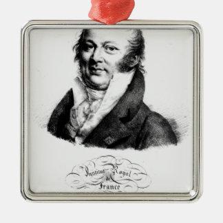 Retrato de Etienne Geoffroy Santo-Hilário Enfeites Para Arvores De Natal