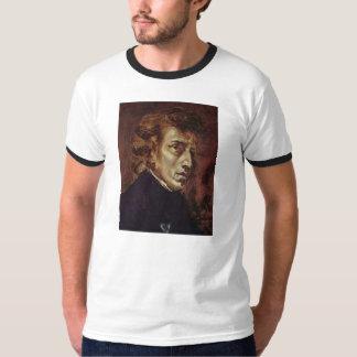 Retrato de Frédéric Chopin Tshirts