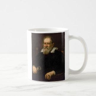 Retrato de Galileo Galilei por Justus Sustermans Caneca