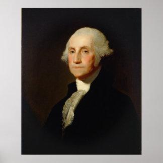 Retrato de George Washington Gilbert Stuart Pôster