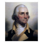 Retrato de George Washington Posters