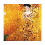 Retrato de Gustavo Klimt de Adele Bloch-Bauer Impressão Em Tela