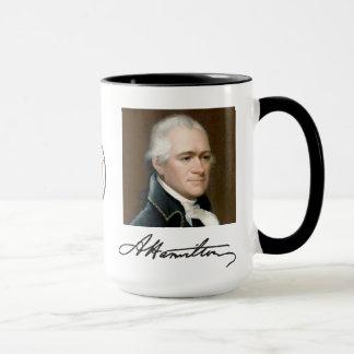 Retrato de Hamilton & caneca dos fatos
