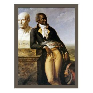 Retrato de Jean-Baptiste Belley Cartão Postal