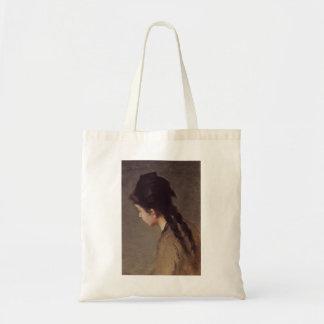 Retrato de Jeanne Gonzales por Eva Gonzales Bolsas De Lona