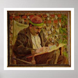 Retrato de John Maynard Keynes (1883-1946) (óleo o Poster