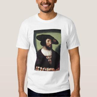 Retrato de Kristian II T-shirts