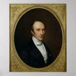 Retrato de Louis Cauchy Pôsteres