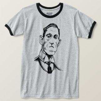Retrato de Lovecraft, camisa de Lovecraft, T da