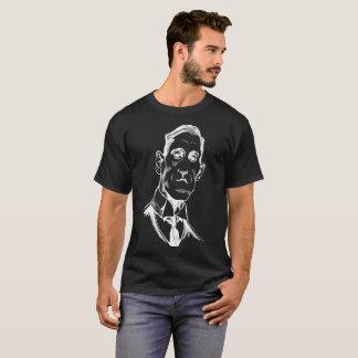 Retrato de Lovecraft - t-shirt da camiseta de