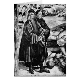 Retrato de Luca Signorelli e de Fra Angelico Cartão