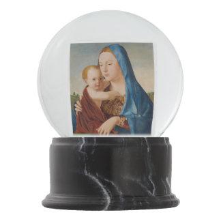 Retrato de Mary e de bebê Jesus