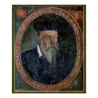 Retrato de Michel de Nostradame Posters