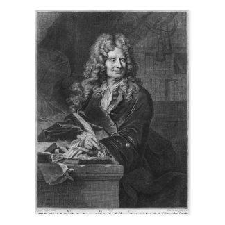 Retrato de Nicolas Boileau Cartão Postal
