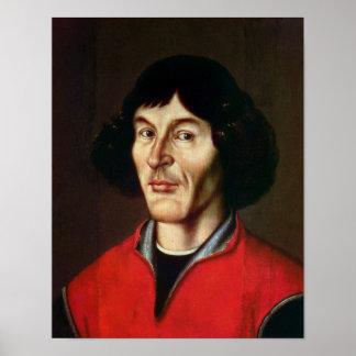 Retrato de Nicolau Copérnico Pôster