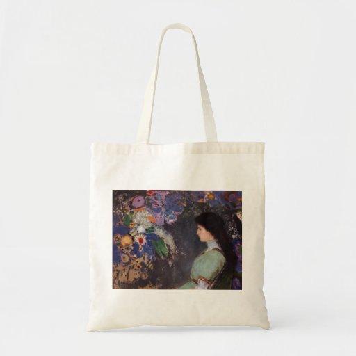 Retrato de Odilon Redon- de Violette Heymann Bolsas