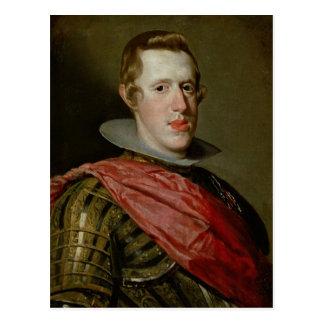 Retrato de Philip IV na armadura, 1628 Cartão Postal
