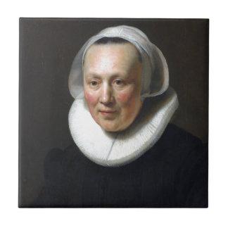 Retrato de Rembrandt de uma mulher